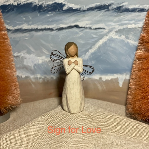 Willow Tree DEMIDACO - Sign for Love